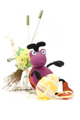 An Easter toy-bug