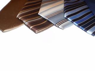 5 Corbatas modernas, vista alzada