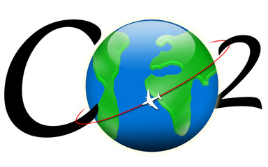 CO2 aviation