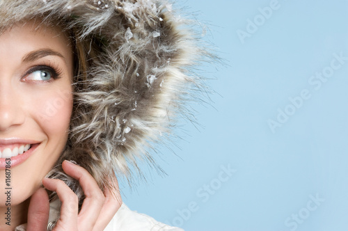 Pretty Winter Teen