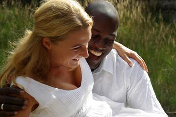 glückliches Paar - Verliebte