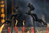 Dragon Incense Burners Baoguang Si Shining Treasure Buddhist Tem poster