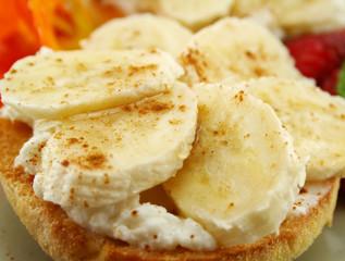 Banana And Ricotta Muffins