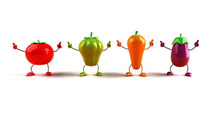 Légumes dansent
