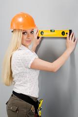Builder-woman