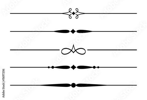 5 dividers trennlinien und zierlinien mit ornamenten 3 stockfotos und lizenzfreie vektoren. Black Bedroom Furniture Sets. Home Design Ideas