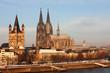 Kölner Dom und St. Martin