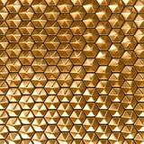 Hexagon background poster