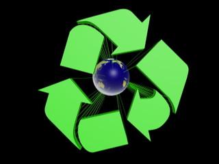 reclyclage terre