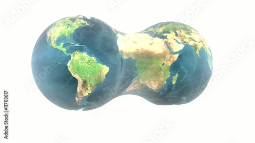 rotated earth, loop