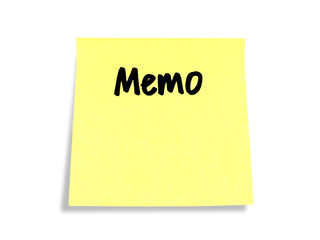 Stickies/Post-it Note: Memo