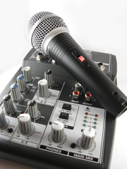 Mixer and Microphone