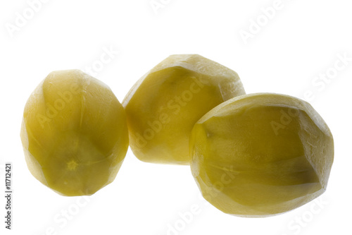 Tahitian Apple Pickles Isolated