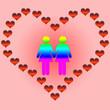 san valentin lesbianas