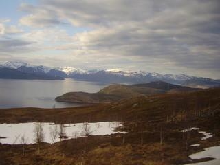 Landschaft vorm Nordkapp