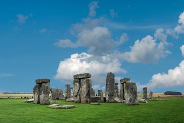 Stonehenge large panorama, United Kingdom