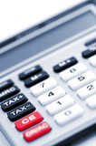Tax calculator keypad