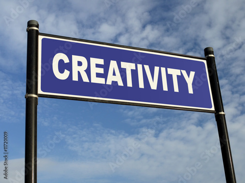 poster of Creativity signpost