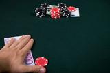 gambling concept poster