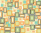 abstract rectangles background poster