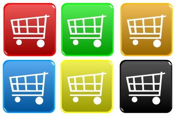Web button - shopping cart