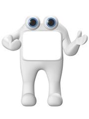 personnage 3d concept 2