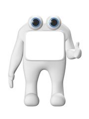 personnage 3d concept 1