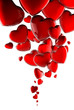 Quadro Bulles en Coeurs