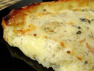 Tarta 4 quesos