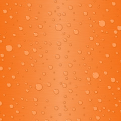 Gradient background in orange with waterdrops