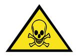 danger poison warning sign poster