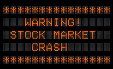 Stock Market Crash !