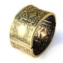 large bracelet en métal