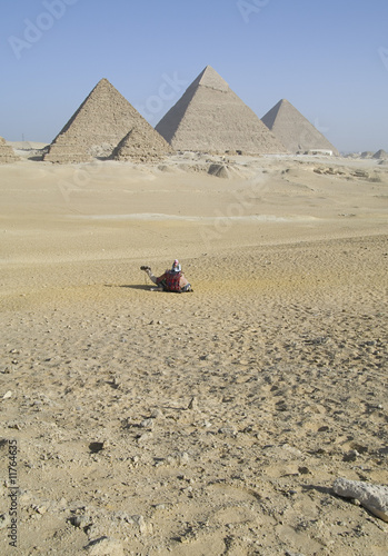Leinwandbild Motiv The Gizeh Pyramids