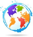 color glob icon
