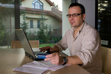 Settlement bills online using credit card poster