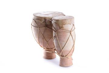 Terracotta bongo.