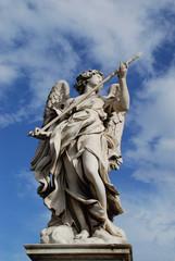 Engel mit Lanze Engelsbrücke Tiber Rom Brücke