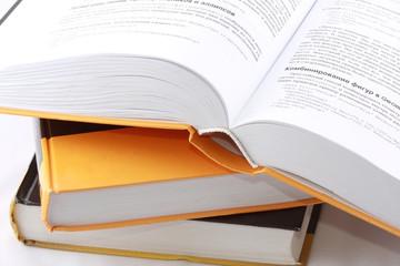 Open computer book