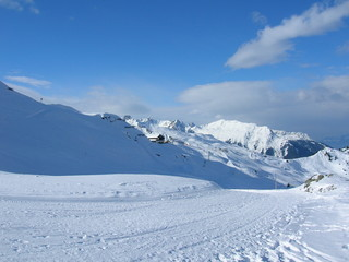 Skigebiet in Vorarlberg