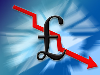 pound finance down