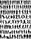 Subject People Silhouettes - Big Collection poster