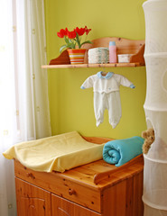 Interior of children room