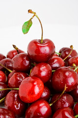 Pile of cherries