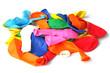 tas de ballons de baudruche