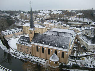 Luxemburg im Winter