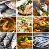 Fototapety seafood