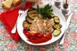 Cernia in salsa di alici - Secondi di pesce della Dalmazia