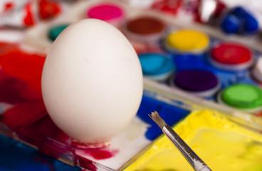 Blank easter egg