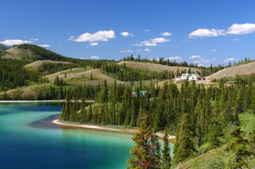 Emerald Lake Yukon Territory, Canada